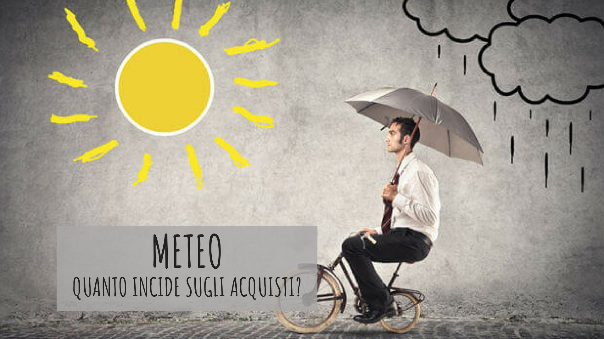 Meteo e acquisti: come rendere l'accoppiata vincente nelle campagne di marketing