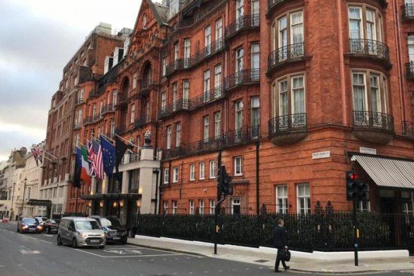 La sede dell'ambasciata