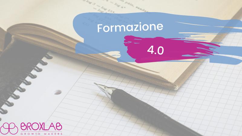 Formazione 4.0 - Nessun limite alla conoscenza